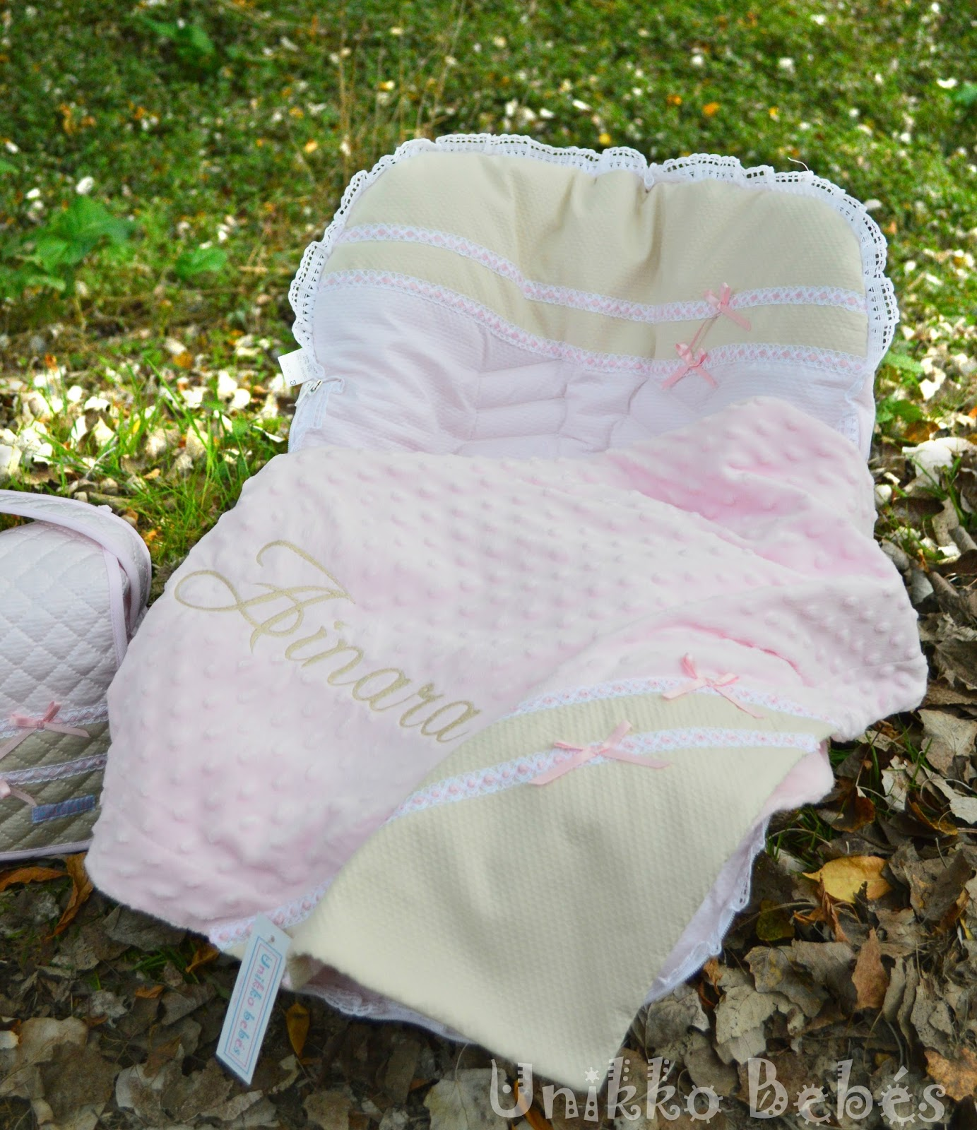 Mantita bebé personalizada
