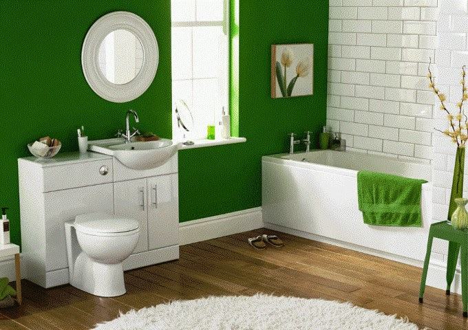 Bathroom Wall Paint Design Ideas ~ Wall painting designs for bathroom ideas