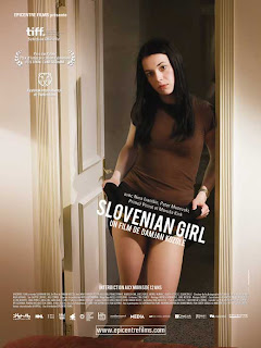 "Pôster do filme ""Slovenian Girl"""