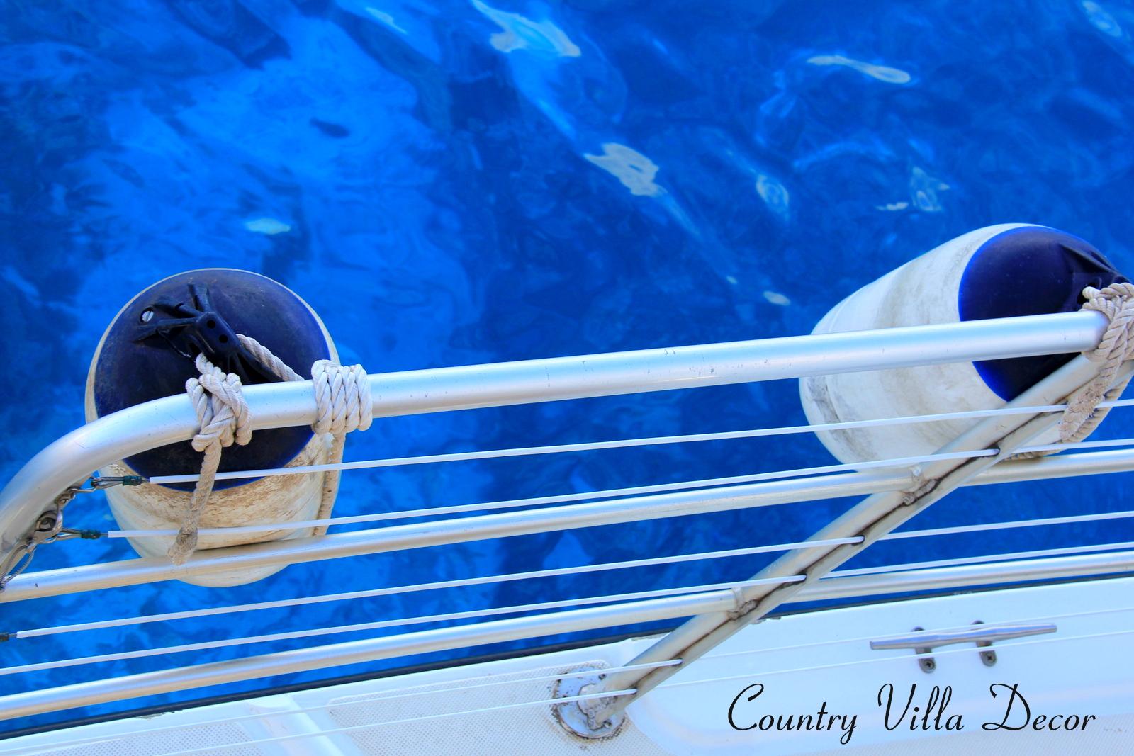 COUNTRY VILLA DECOR: Nautical Decor Ideas