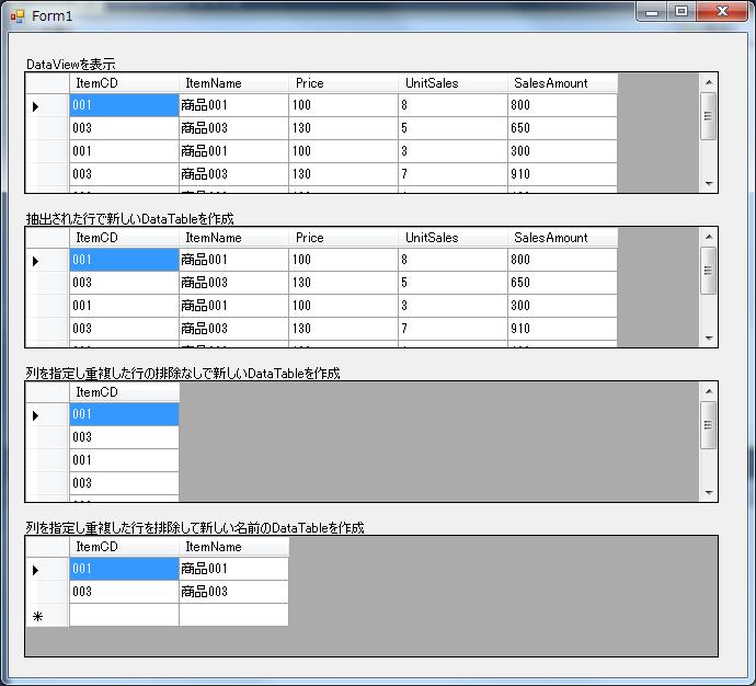 Vb net dataview totable for Html datatable