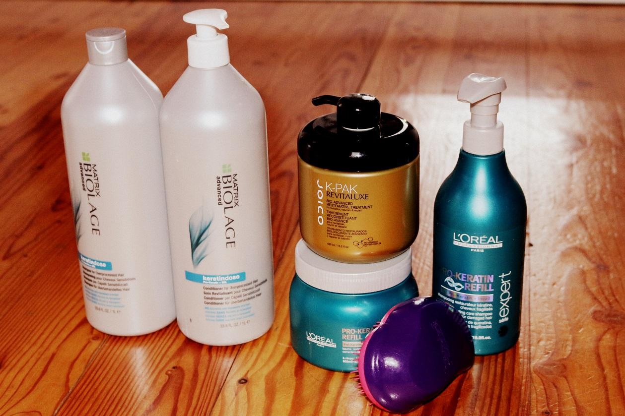 Kosmetyki po prostowaniu keratynowym