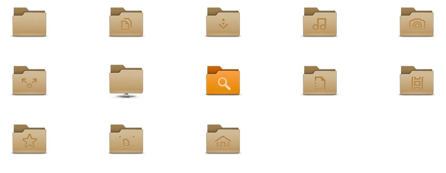 Android Folder Icon Png gnome-3 8-folder-icons png