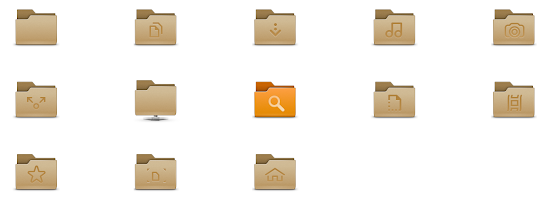 gnome 3.8 folder icons