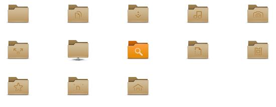 gnome 3.8 folder icons