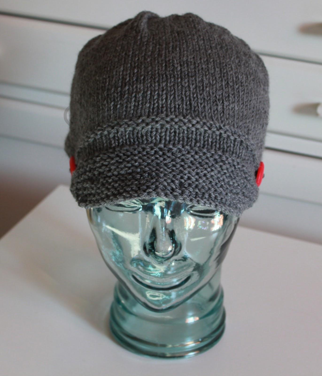 strikka lue Bølle hatt