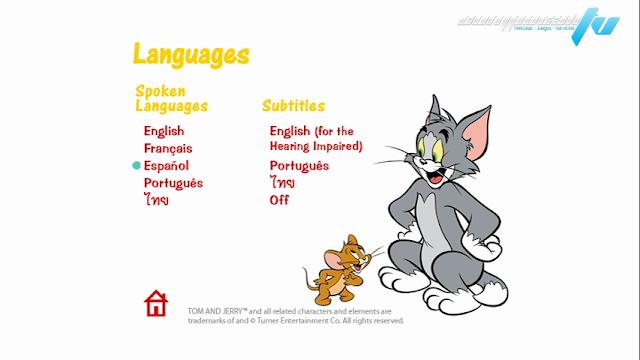Tom y Jerry Tough and Tumble DVDR NTSC Español Latino Menú Full