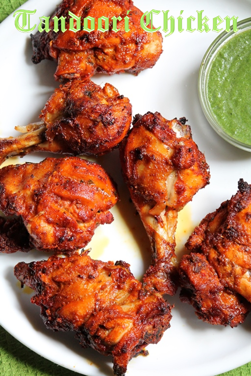YUMMY TUMMY: Tandoori Chicken Recipe