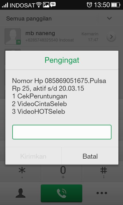 Nomor Perdana Indosat im3