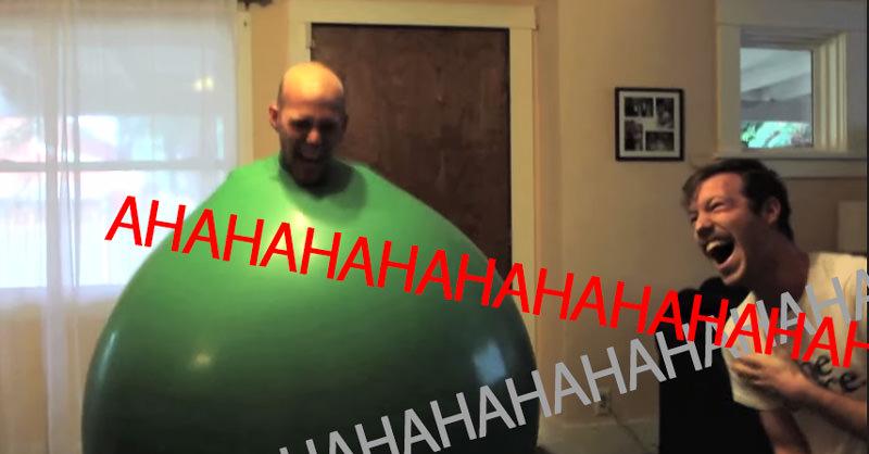 海外の風船太郎の動画を見て、人の笑いは伝達すると確信した