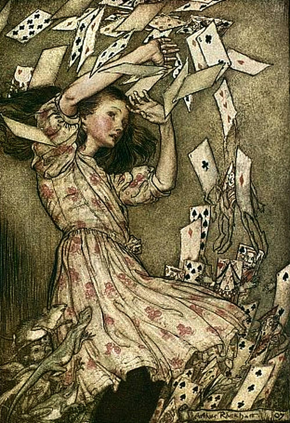 Cards Attack Alice Adventures in Wonderland