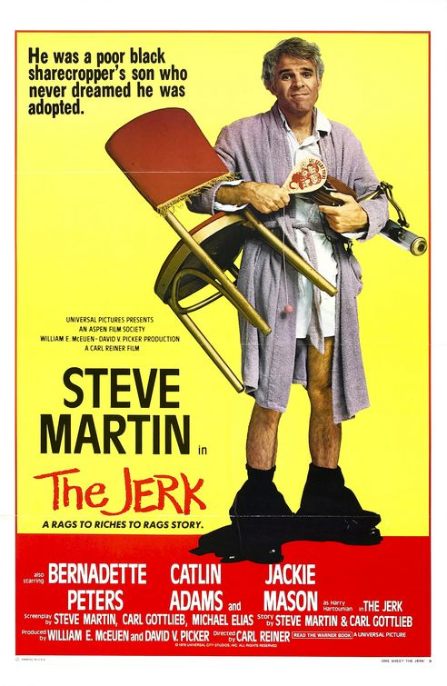 Steve Martin in the jerk 