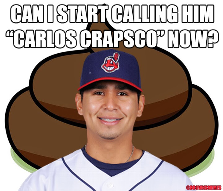 Carlos Carrasco has not been very good this year.