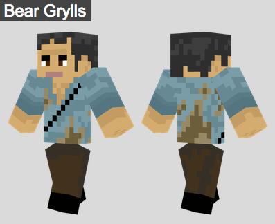 28. Bear Grylls Skin