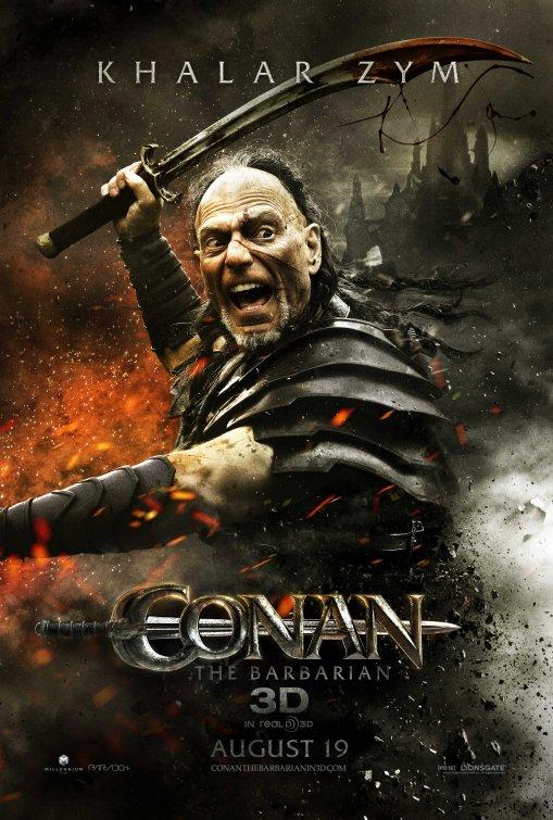 Conan the Barbarian Khalar Zym poster