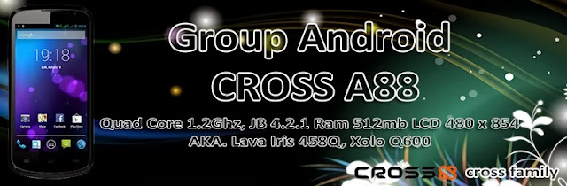 Grup Android Cross A88 Quad Core