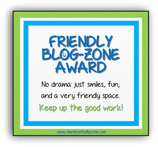 """Friendly Blog-Zone Award"" award"