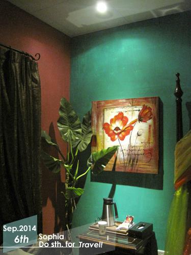 哈瓦那熱帶花園雙人房-床邊小物