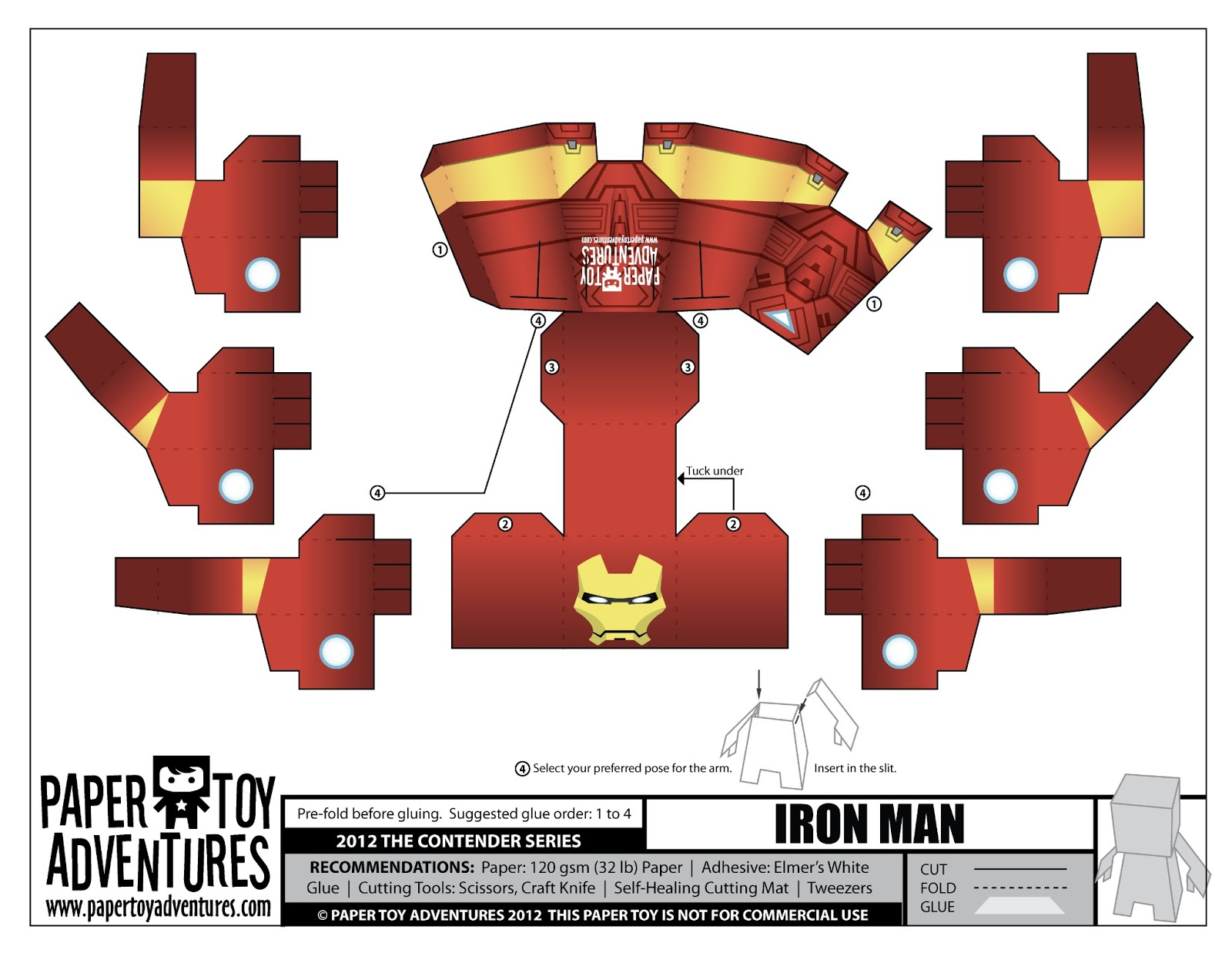 It's just an image of Intrepid Paper Toys Templates