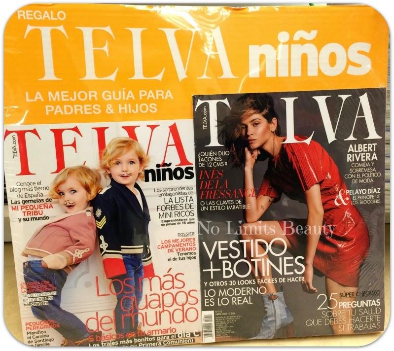Regalos revistas Abril 2015: Telva