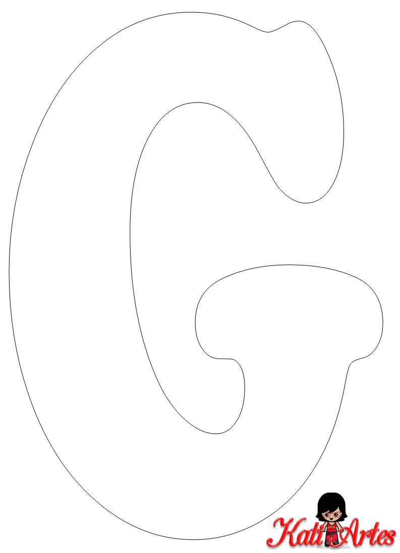 Moldes Letras Grande