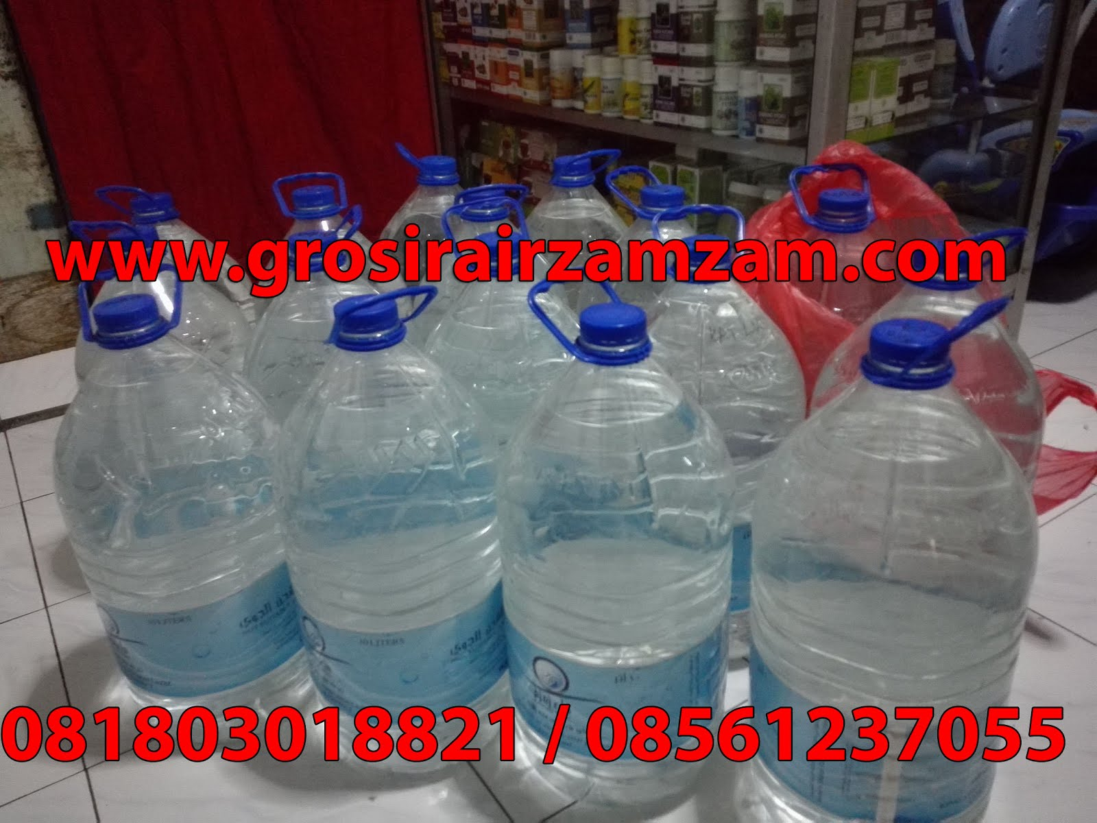 Supplier Air Zamzam Asli
