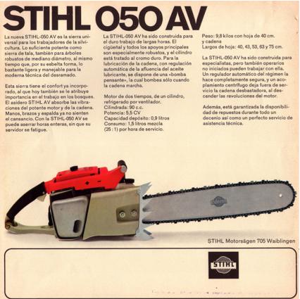 Stihl 050AV