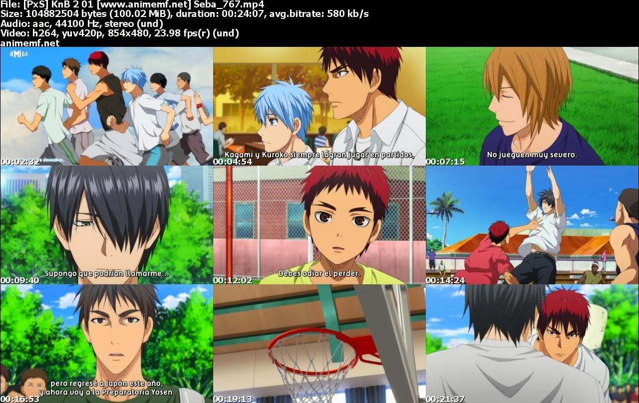 Kuroko no Basuke 2, Basket