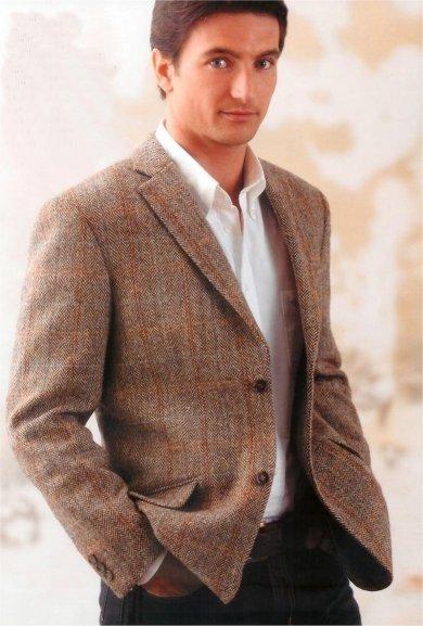Paisley Curtain: Harris Tweed