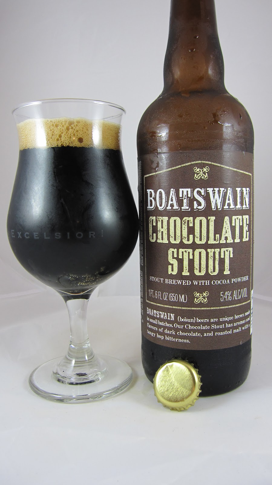 Chad'z Beer Reviews: Boatswain Chocolate Stout
