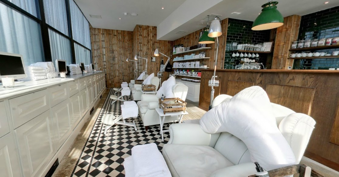 Pedicures in the cowshed hayley hall uk for Hair salon shoreditch