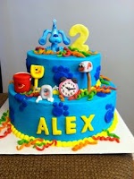 Blue´s Clues: Cake Gallery.