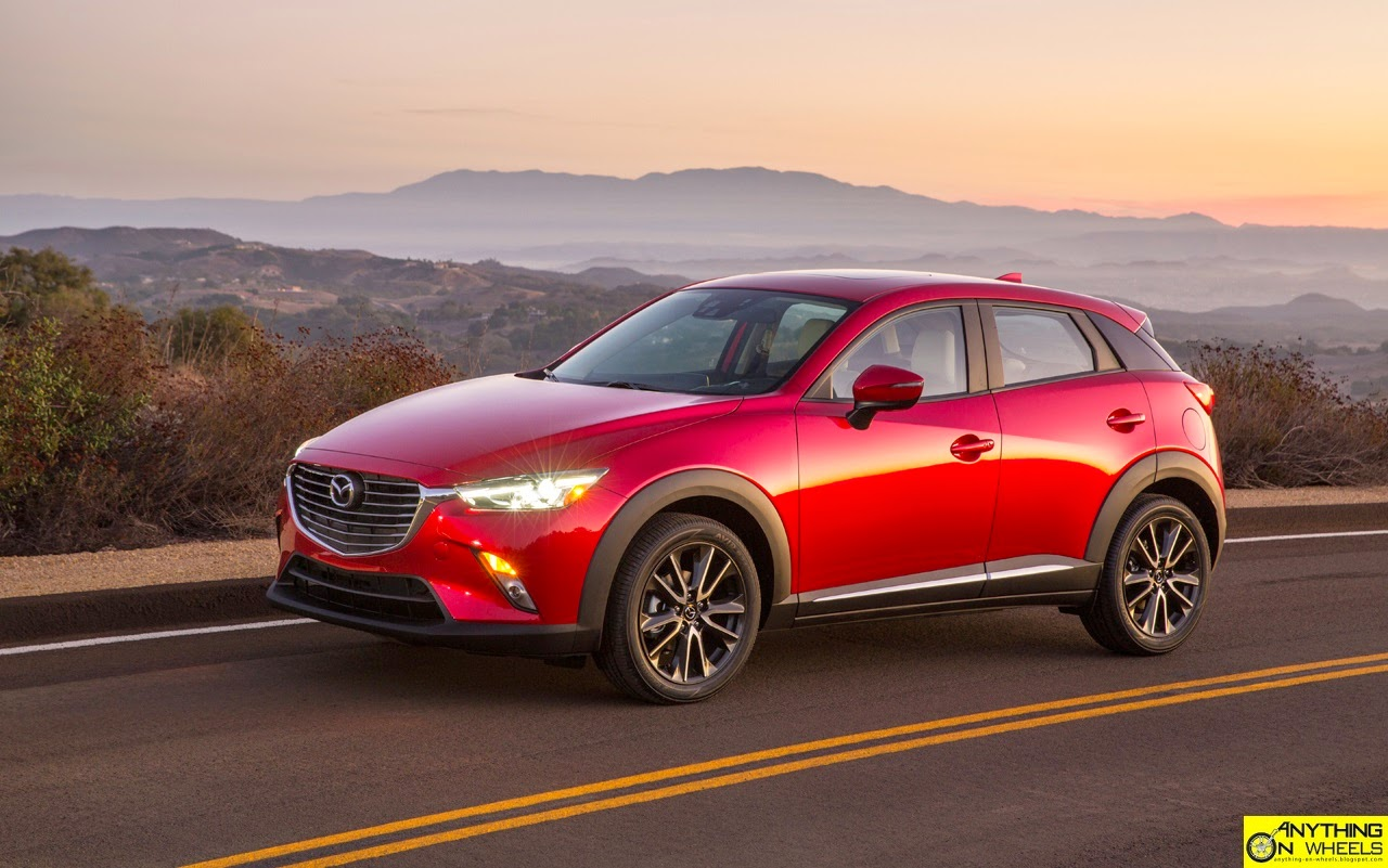 The cx 3 is the fifth all new model launched by mazda in the recent past featuring a full suite of skyactiv technology covering everything from the engine