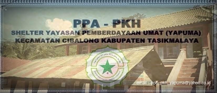 PPA-PKH Shelter YAPUMA Tasikmalaya Provinsi Jawabarat