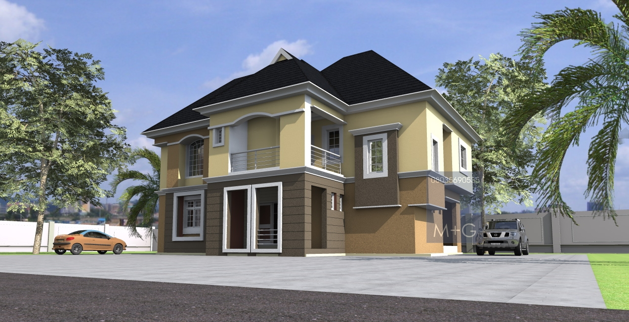 Two bedroom building plans in nigeria joy studio design for Nigerian architectural designs