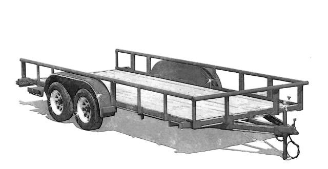 Hot aluminium boat trailer plans gb for Free trailer plans