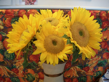 Sunflowers from my daughter