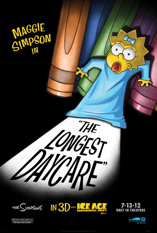 Maggie Simpson in The Longest Daycare. David Silverman. Oscar 2013