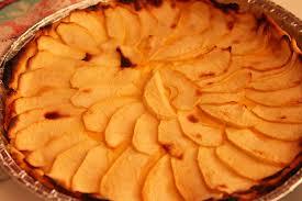 Receta Tarta de Manzana con queso