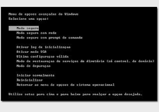 Resolvendo problemas de inicialização do Windows XP - Última configuração válida