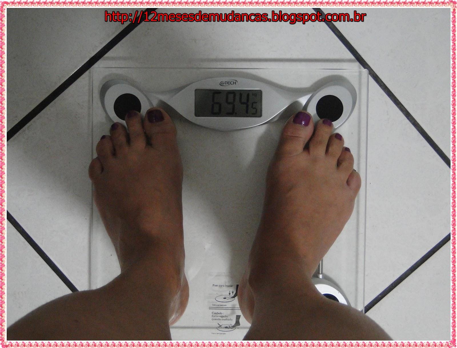 Papel de parede com motivação de perda de peso em um desktop