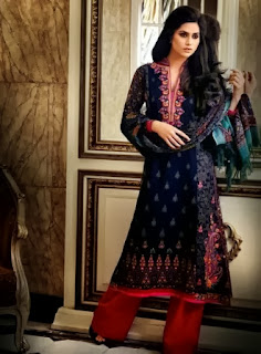 2013-14 Al Karam Winter Dresses