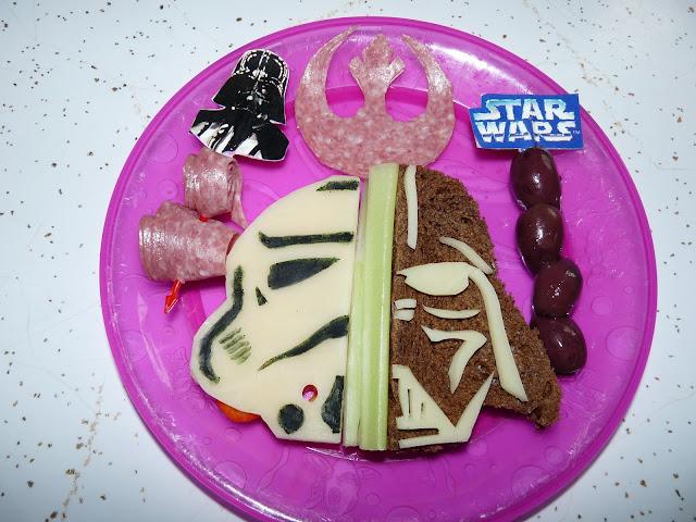 Star Wars Lunch Stormtrooper Darth Vader