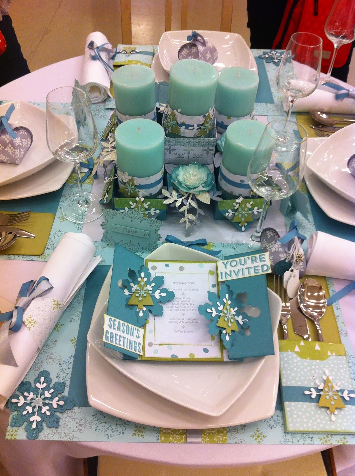 2014 - Stampin UP Convention Christmas Table