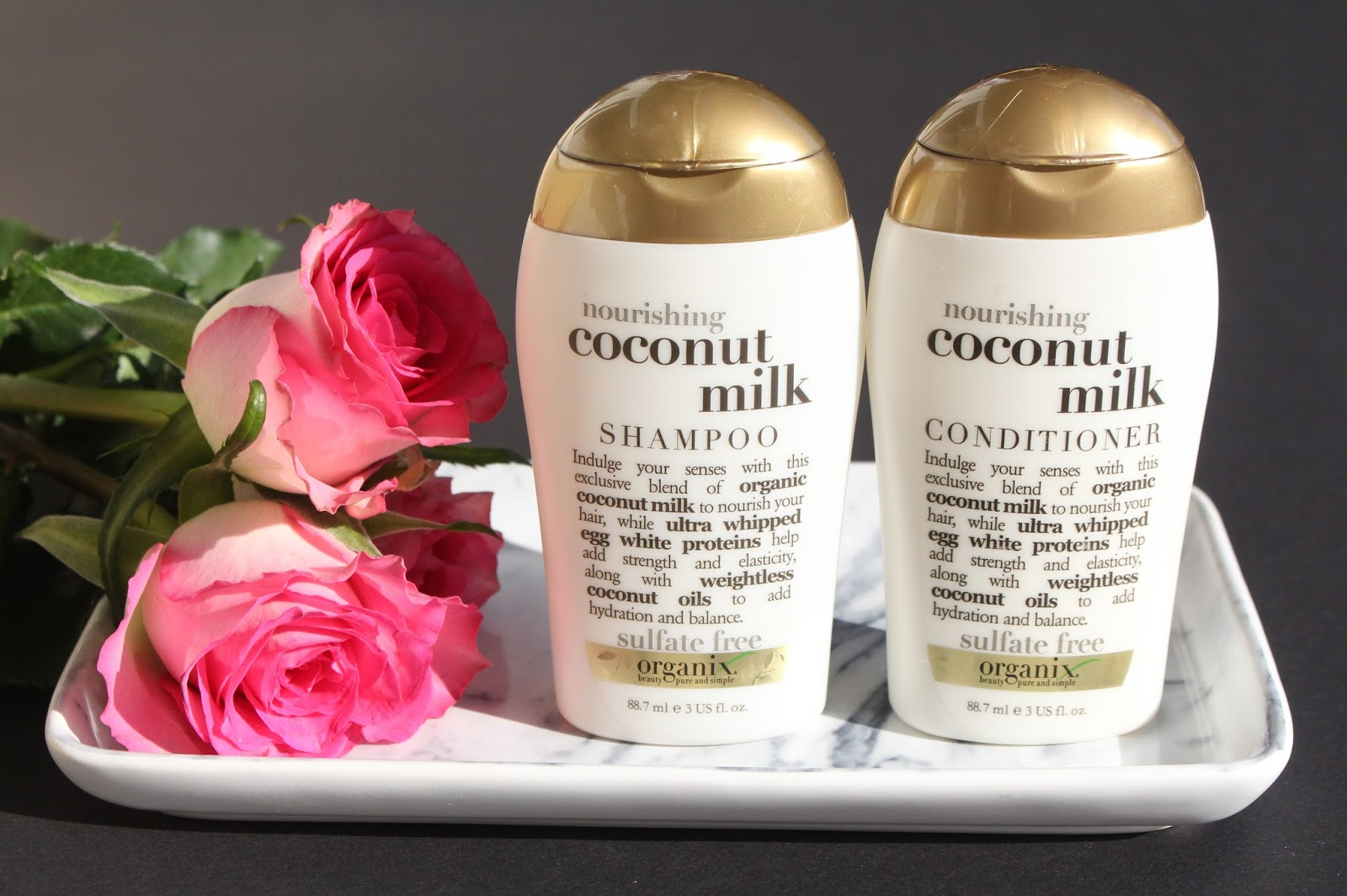 ogx haircare moroccan argan oil coconut milk another kind