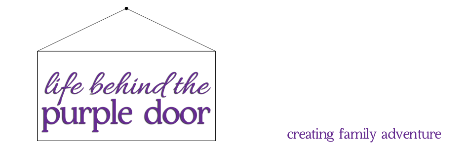 {life behind the purple door}