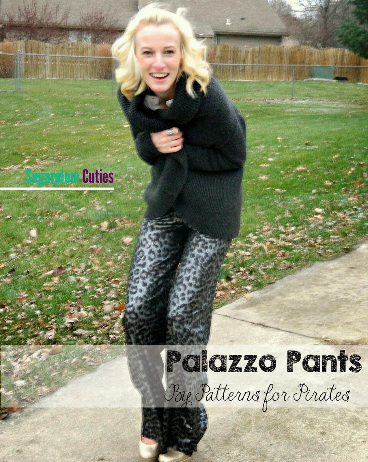 Sugarplum Cuties: Patterns for Pirates Palazzo Pants