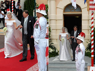 casamento charlene wittstock mónaco, wedding