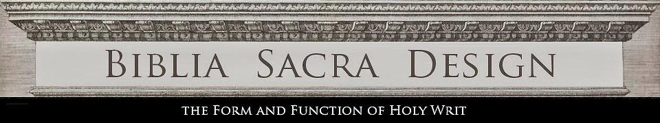 Biblia Sacra Design