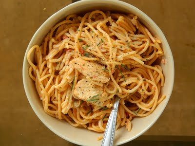 Spanish Chicken Pasta